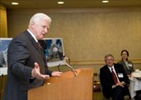 Congressman Jim Moran as a guest speaker